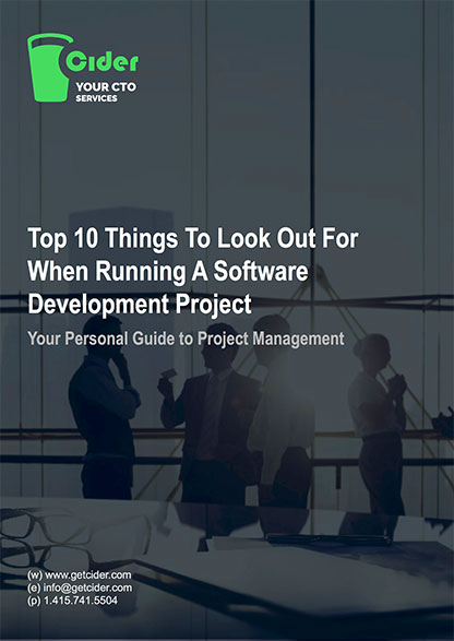 Top 10 Things To Look Our For When Running A Software Development Project