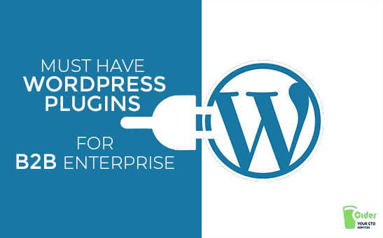 Must Have WordPress plugins For B2B Enterprise
