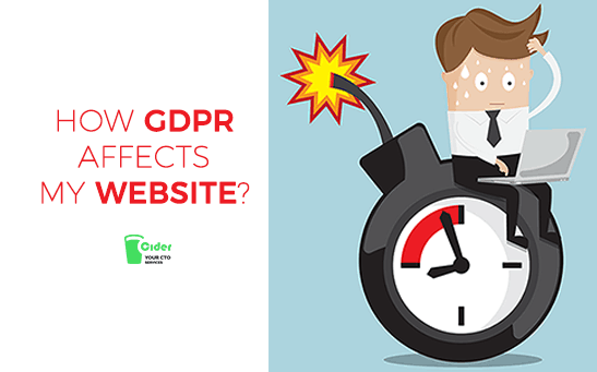 How GDPR affects my website?