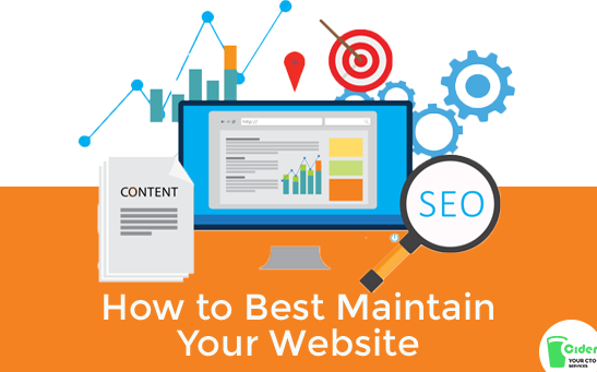 How To Best Maintain Your Website